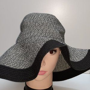 FLOPPY Hat Gray Black Swank Cap Fashion Head Wear